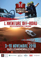 Gazelles & Men Rally 2018.