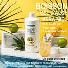 Compte tenu de ses propriétés anti-inflammatoires et son action régulatrice, l'Aloe Vera en boisson traite l'asthme en interne.  LR Health  AloeVeraSante.net