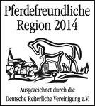Logo Pferdefreundliche Region 2014