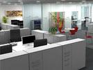 Büro der Zürcher Kantonalbank im Zürich Neue Hard