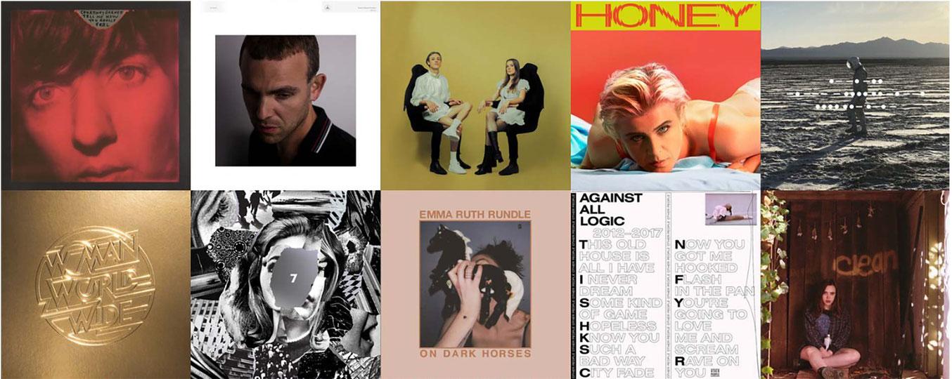 Les 50 meilleurs albums de 2018 selon l'équipe de Erdre Audio
