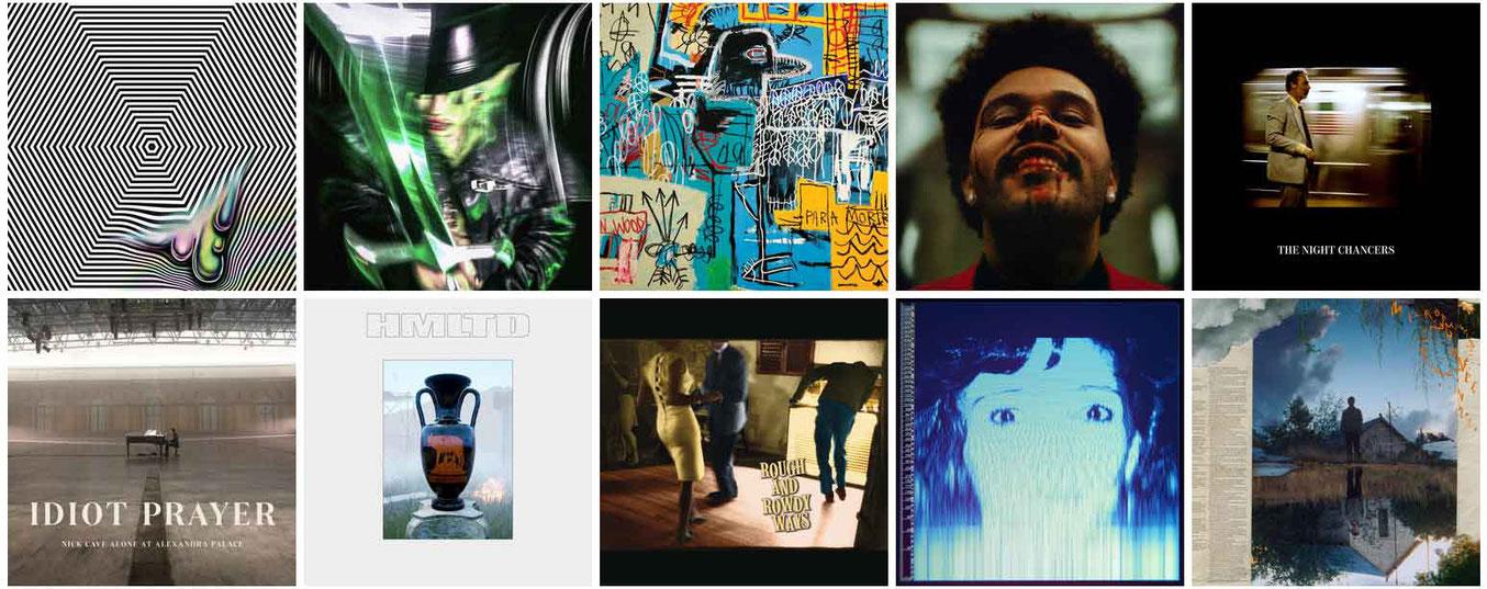 Les 50 meilleurs albums de 2020 selon l'équipe de Erdre Audio