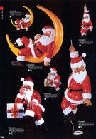 クリスマス用のサンタクロースの人形