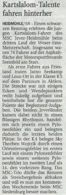Nordwest Zeitung 07.06.2018