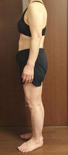 DNAパーソナル痩身を体験されている60代女性
