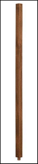 wood stair spindles WB11436BLO
