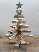 Weihnachtsbäume aus Palettenholz