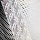 Lochblech und Riffelblech aus Aluminium