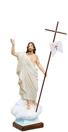 Jesus resurrection statue cm. 65