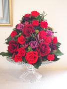 プリザーブドフラワー,大きなサイズ,開店祝い,赤バラ,2万円台