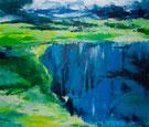 NORDLAND   Acyrl / Lwd. 100 x 120 cm