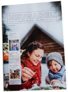 Zeitschrift Kraut & Rüben mit einem Beitrag über die Meßmer Tisch-Unikate aus Holz und gerostetem Stahl
