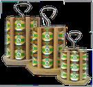Imkerei Honigträger Honeyboy Honigverkauf Honigpräsentation Honigtransport  Honig verkaufen Honiggläser