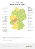 Wie viel müssen Lehrer/innen in Deutschland arbeiten?