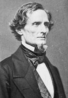 Jefferson Davis - Erster und letzter Präsident der CSA {{PD-US}}