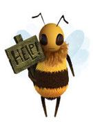 """die """"Haägen Dazs""""-Biene"""