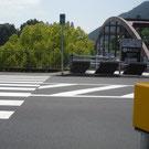 軍畑駅入口横断歩道