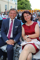NR Johann Höfinger und Begleitung