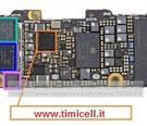 Riparazione componenti su scheda madre iphone 5