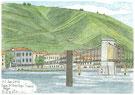 タン・レルミタージュ つり橋と対岸
