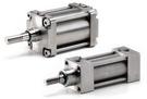 KOMPAUT - Cilindri ISO 15552 - VDMA 24562 in acciaio INOX AISI 304 e AISI 316 o in esecuzioni speciali a disegno