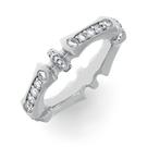 Alliance Ring in Weissgold mit Brillanten aus der Verlobungsring Kollektion Baby Gremlin der Goldschmiede OBSESSION Zürich und Wetzikon