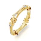 Alliance Ring in Gelbgold mit Brillanten aus der Verlobungsring Kollektion Baby Gremlin der Goldschmiede OBSESSION Zürich und Wetzikon