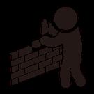 アイコン:建築トラブル
