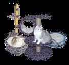 Когтеточки, лешанки, гамаки для кошек