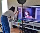 佐藤由季さんオフィシャルblogにて紹介いただきました。作品撮りの様子