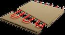 système activestone four à pizza avec résistance électrique inclue dans pierre refractaire