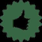 icone représentant un pouce levé