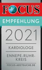 Focus Empfehlung 2021 Kardiologie