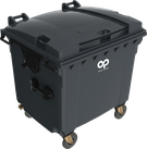 Contenedor de basura 1100 L