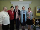 Michèle, Inmaculada, Catherine, Carme, Justi
