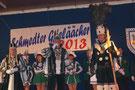 Unser noch amtierendes Dreigestirn 2012 in Schmidt