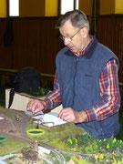 Bruno beim Probeaufbau am 25.2.2012