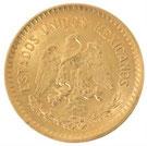 K21.6 21.6金 メキシコ 5ペソ金貨 コイン