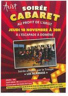 école de musique emc crolles - gresivaudan : affiche concert des Alamass à Domène