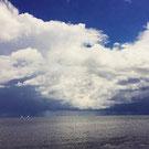 Copyright Foto J.S.Schwarz Wolkenspiel gewitter meer philosofie