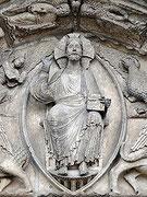 Mandorle de la cathédrale de Chartres.