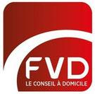 Nouveau logo de la Féderation de la Vente Directe en France.