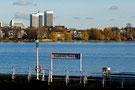 Hamburgs großer Binnensee. Außen-und Binnenalster