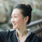 Weijia Cambreleng, enseignante de qi gong au parc de Sceaux