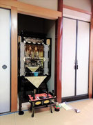 金仏壇18号別台