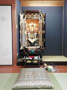 総金箔20号胴長杢出し仏壇