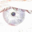 Das Auge von Thorsten Hülsberg zeigt, dass das Ü alles im Auge hat und der Besucher hier ebenso alles im Auge hat.