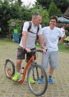 Beate Jahn und Peter Bartel