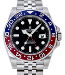 ROLEX/ ロレックス GMTマスターⅡ 126710BLRO