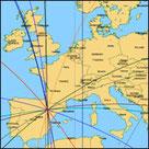 Astrocartografía mundial